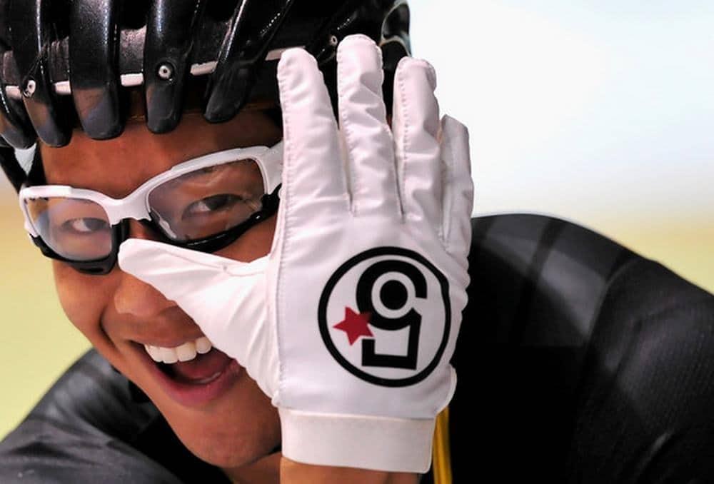 Paire de  gants de piste 5Bling-Wabcarbon blanc ou noir
