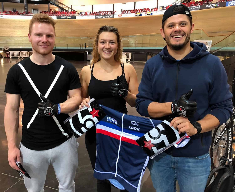 Wabcarbon-5Bling soutien les 6 membres de l'équipe de France de sprint sur piste